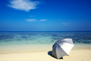 Travel Sun Umbrella Feel Protected